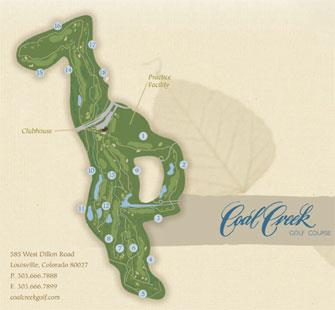 Coal Creek Course Map